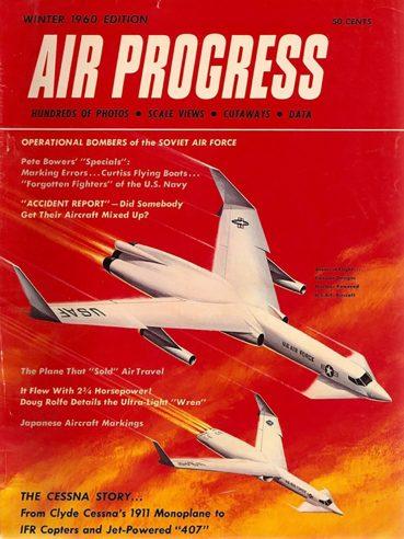 Air Progress Winter 1960 cover