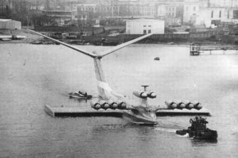 Caspian Sea Monster ekranoplan