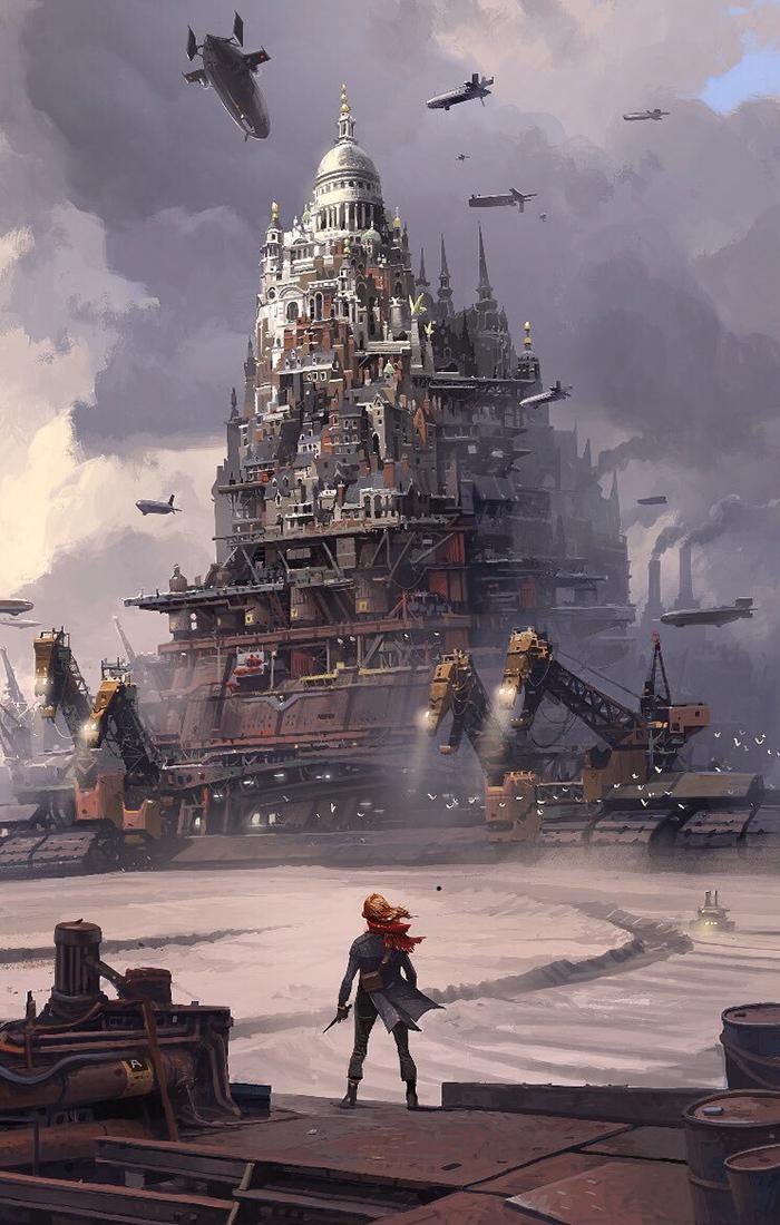 Ian McQue artwork