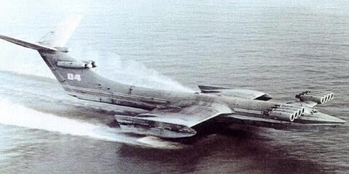 Lun-class ekranoplan drawing