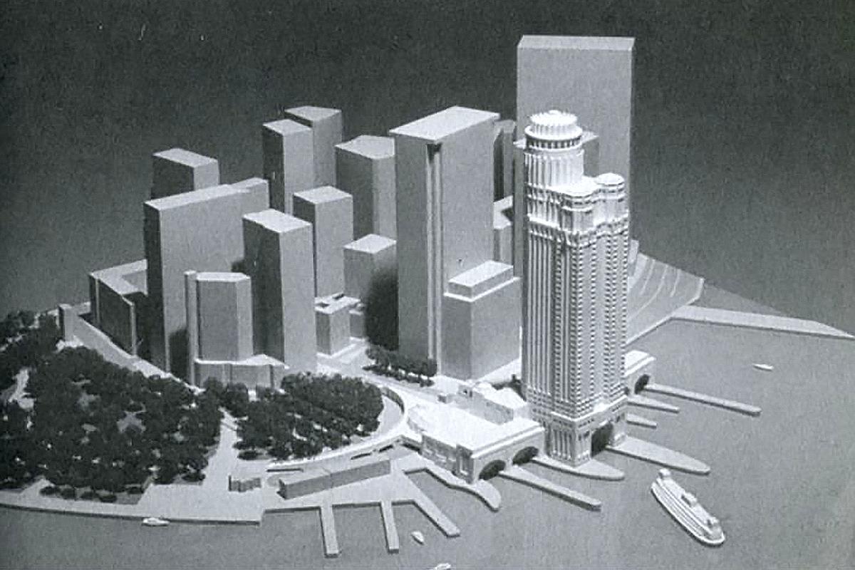 New York South Ferry Plaza design
