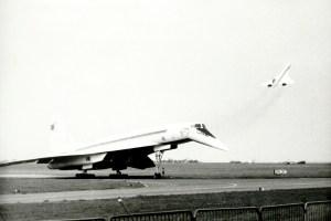 Tu-144 Concorde supersonic jets