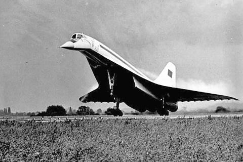 Tupolev Tu-144 supersonic jet