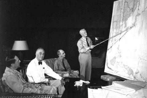 Douglas MacArthur Franklin Delano Roosevelt Chester Nimitz