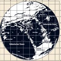 German Hollow Earth map