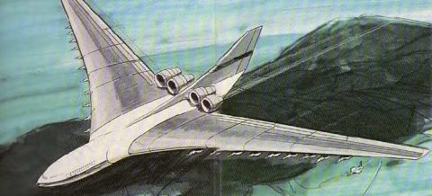 Lockheed CL-1201 artwork