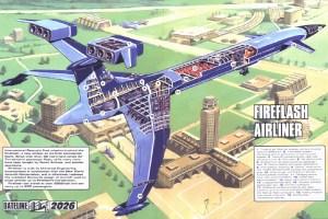 Thunderbirds Fireflash cutaway