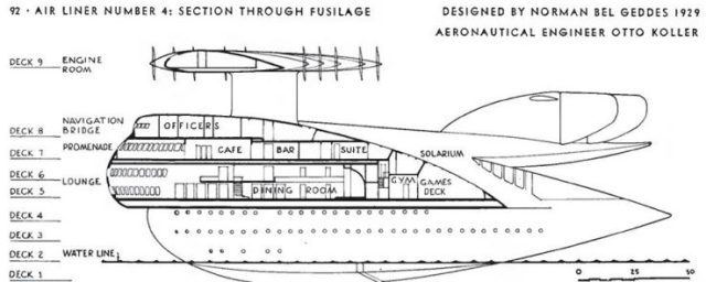 Airliner Number 4 cutaway