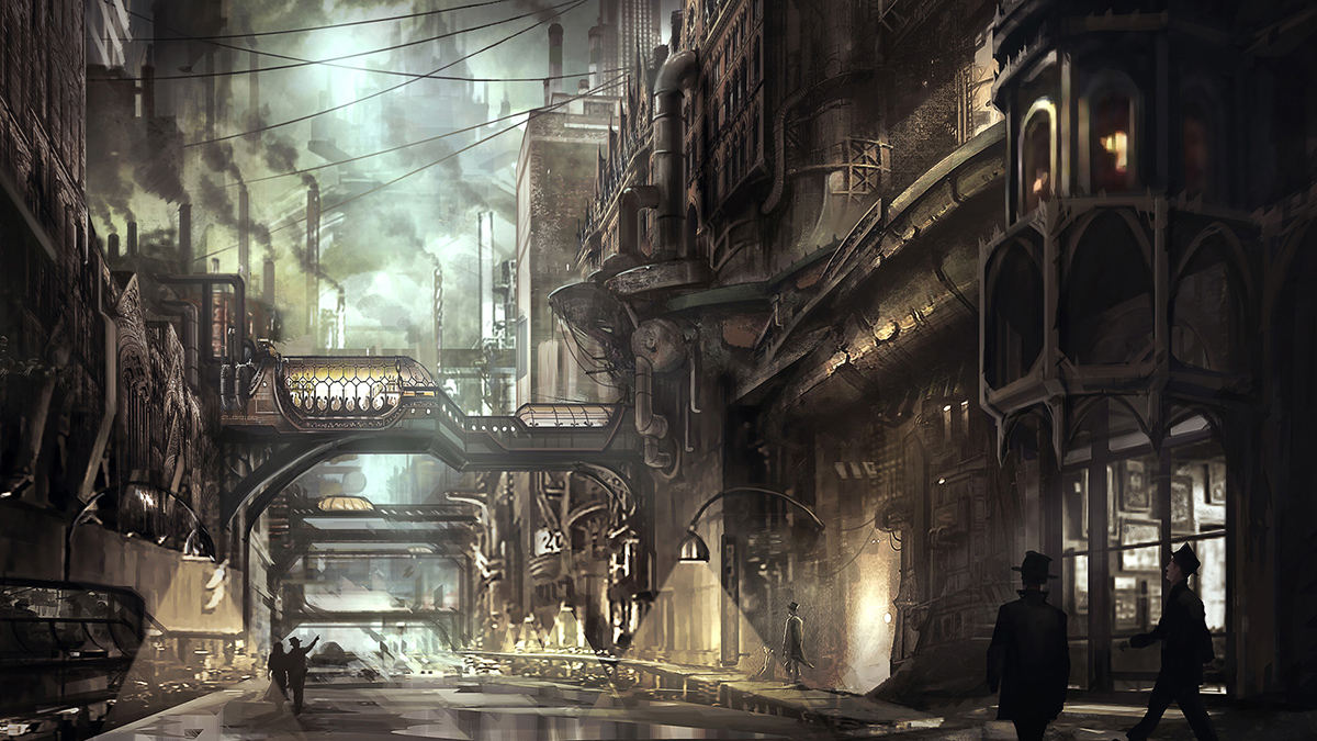 Lantern City concept art