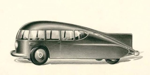 Norman Bel Geddes car design