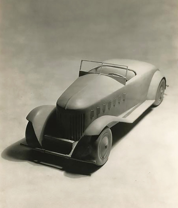Norman Bel Geddes car model