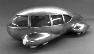 Norman Bel Geddes car model