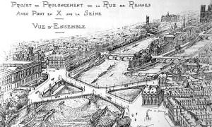 Paris France bridge design