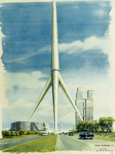 Polak Tower Paris France