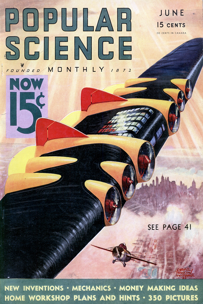 Popular Science June 1933 cover