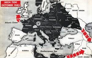 1942 Europe map