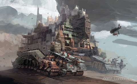 Mortal Engines concept art