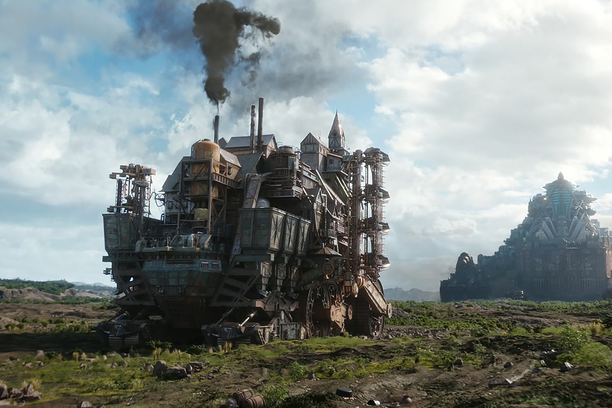 Mortal Engines scene