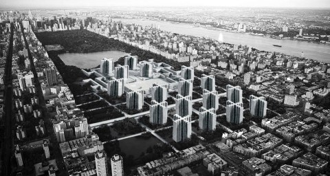 Plan Voisin Manhattan New York