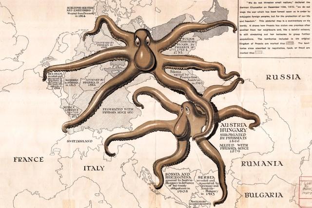 1915 Prussia map