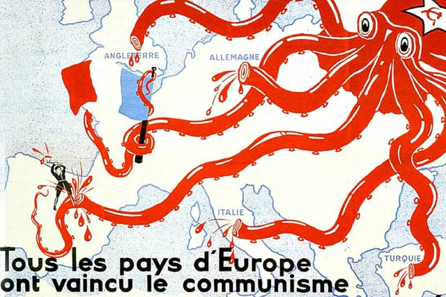 1930s French anti-communist propaganda