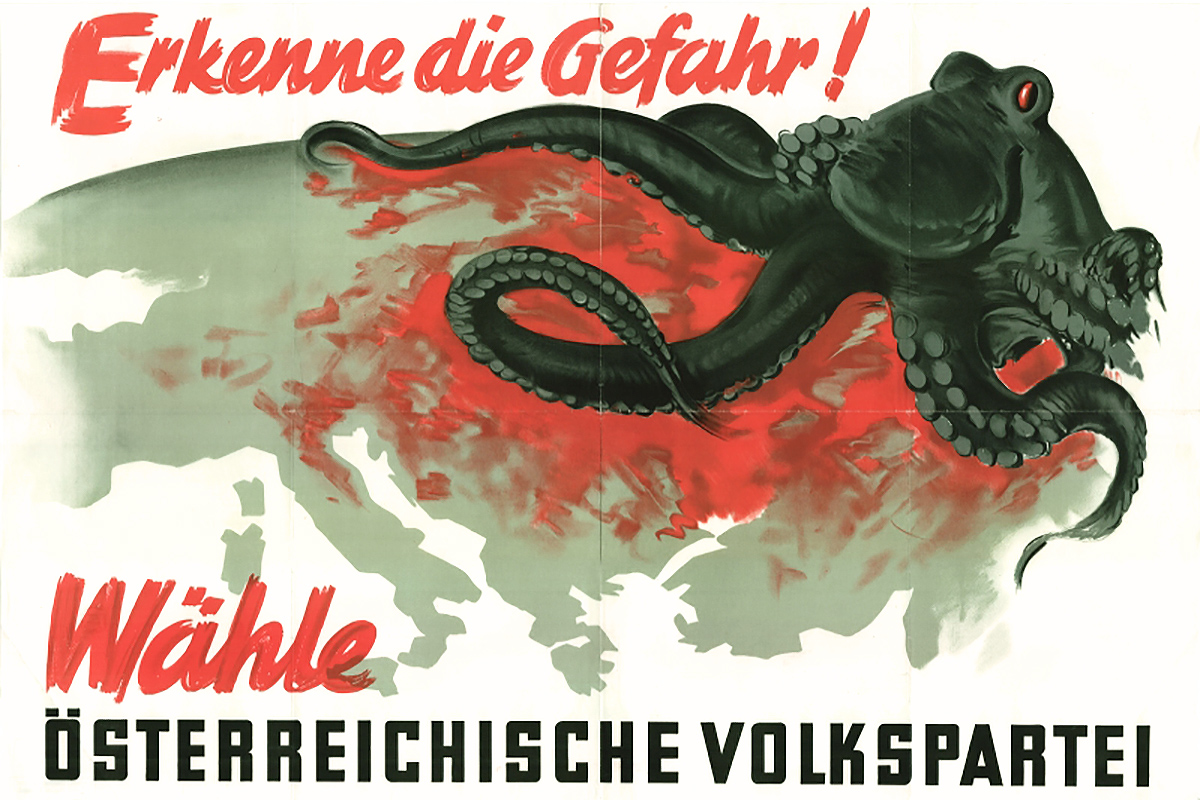 1949 Austrian People's Party poster