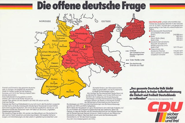 CDU Germany map