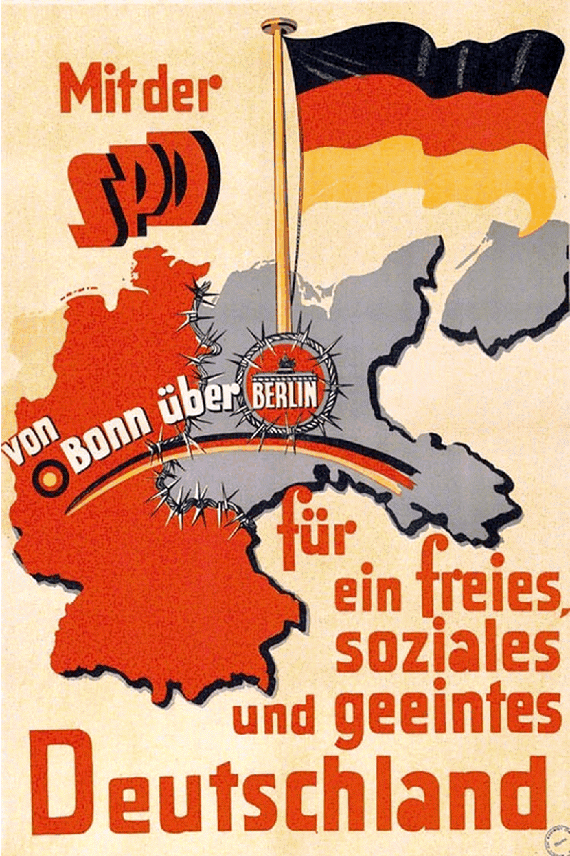 German SPD poster