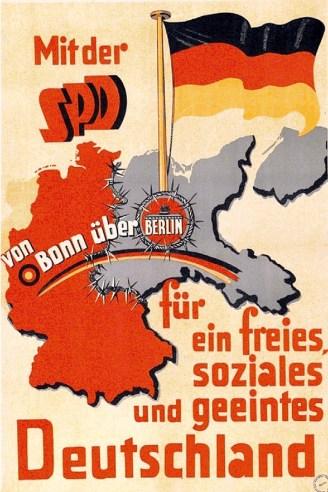 German SPD poster