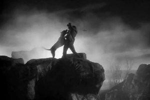 The Hound of the Baskervilles scene