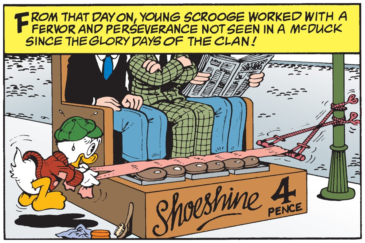 The Last of the Clan McDuck panel
