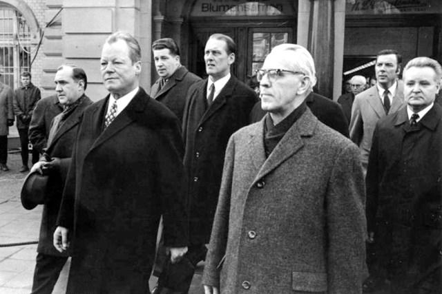 Willy Brandt Willi Stoph