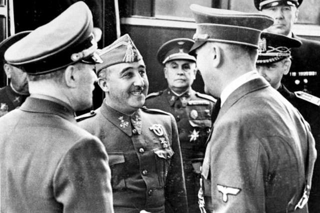 Francisco Franco Adolf Hitler