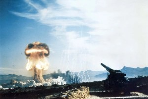 Nuclear artillery weapons test