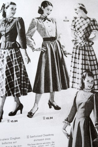 Everyday Fashions of the Forties page