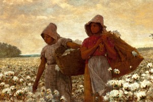 The Cotton Pickers painting