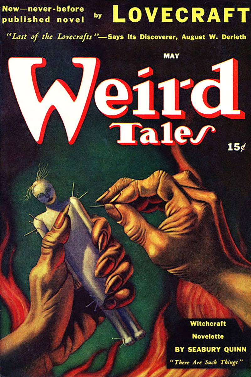 Weird Tales May 1941 cover
