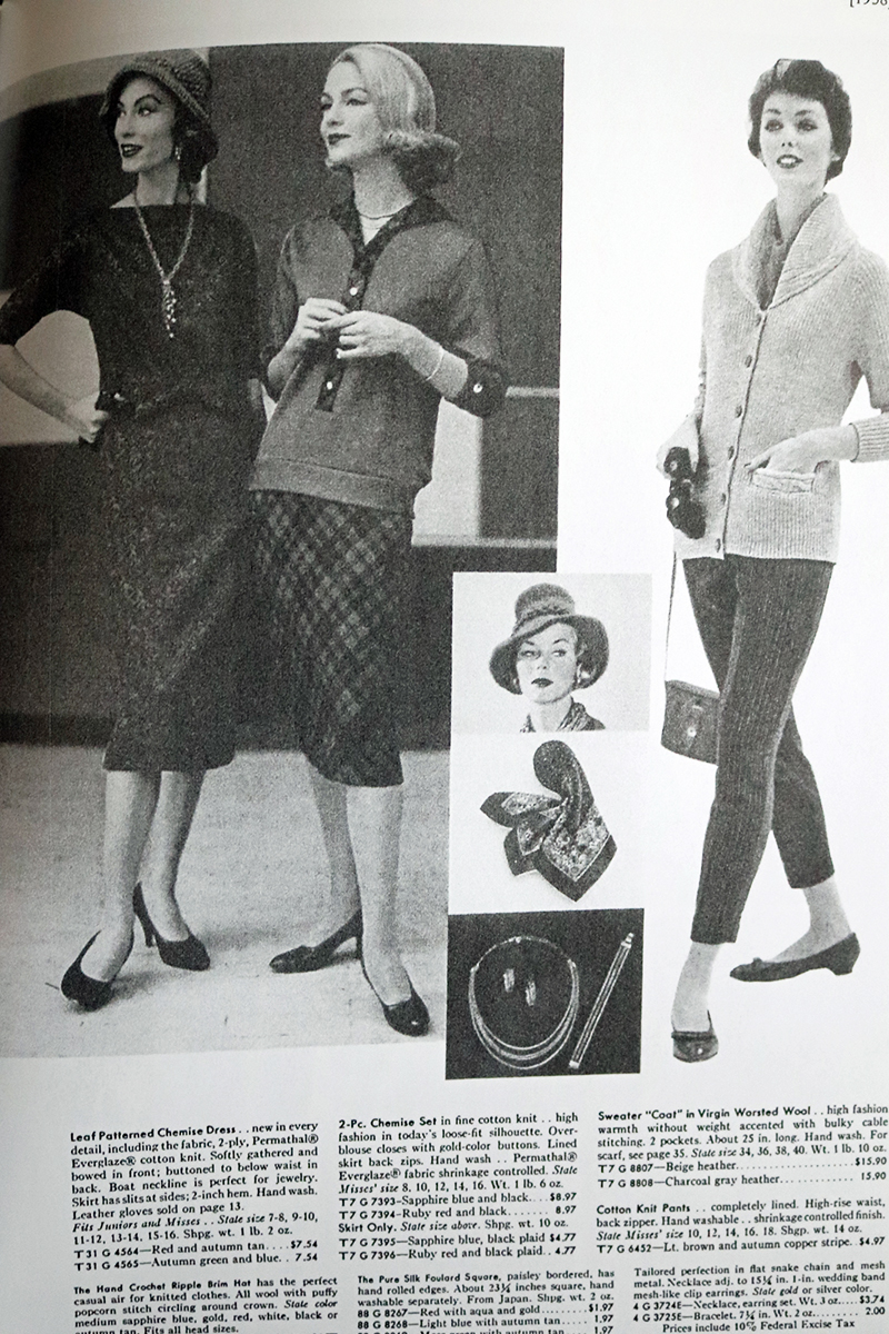 Everyday Fashions of the Fifties page