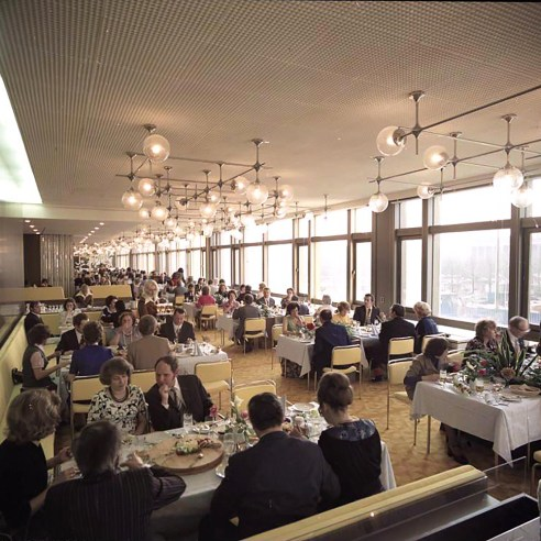 Palast der Republik Berlin Germany restaurant