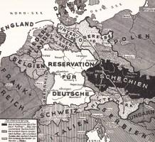 Reservation for Germans map