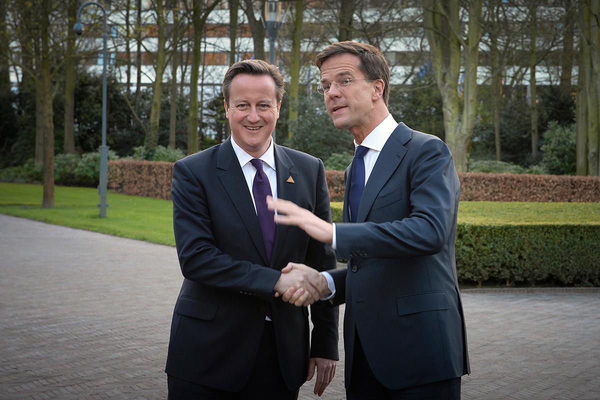 David Cameron Mark Rutte
