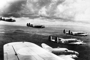 Australian warplanes over Malaya