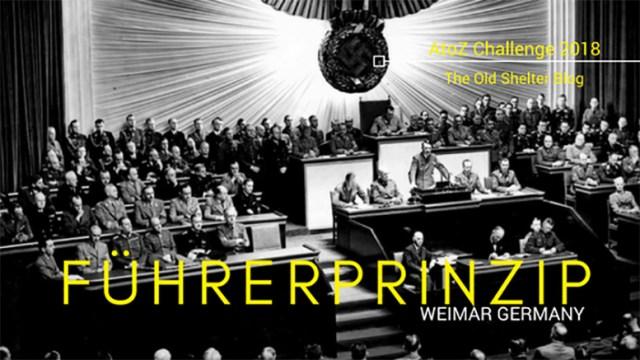The Old Shelter Weimar Germany Führerprinzip