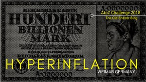 The Old Shelter Weimar Germany Hyperinflation