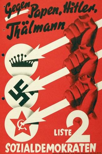 1932 German Social Democratic Party election poster