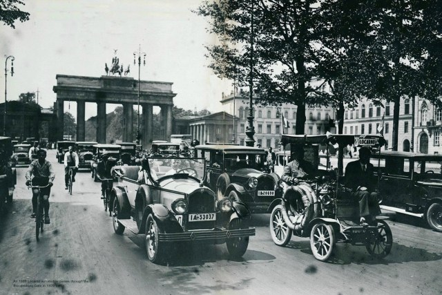Berlin Germany cars