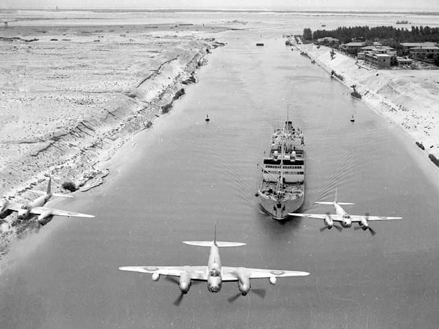 British warplanes Suez Canal