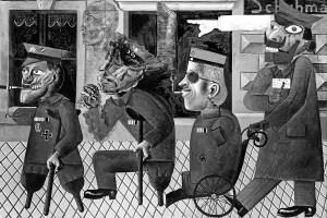 War Cripples painting
