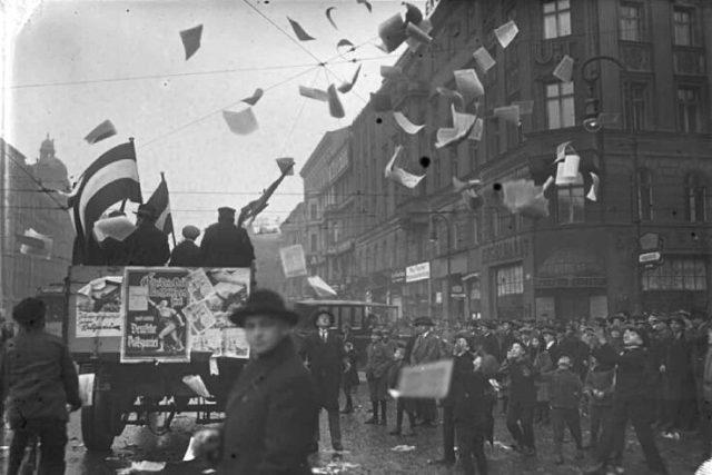 Berlin Germany electioneering
