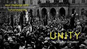 The Old Shelter Weimar Germany Unity